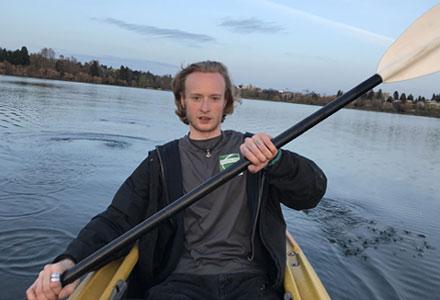 Taiga rowing